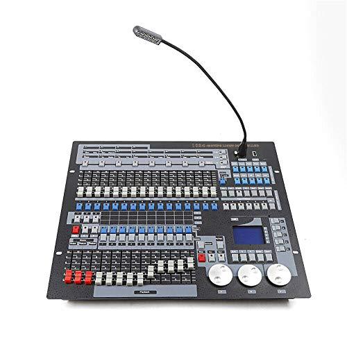 1024 Kanäle DMX 512 Steuerpult, Lichtsteuerung DMX Controller DJ DMX Konsole Betreiber Equippment für Bühnen Lampe, Geeignet für Moving Head DJ Club Party