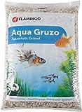 Flamingo Gravier pour aquarium - Blanc - 8 l / 10 kg