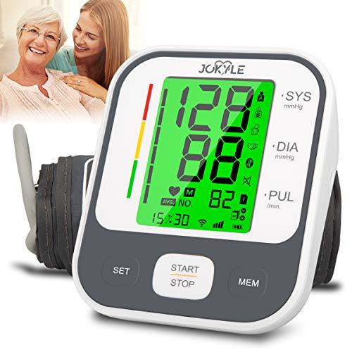 Blood Pressure Monitor,Digital BP Cuff Upper Arm Blood Pressure Monitor Backlit Display Large Cuff BP Machine Heart Monitor Automatic Blood Pressure Cuff for Home Use,2*90 Sets Memory