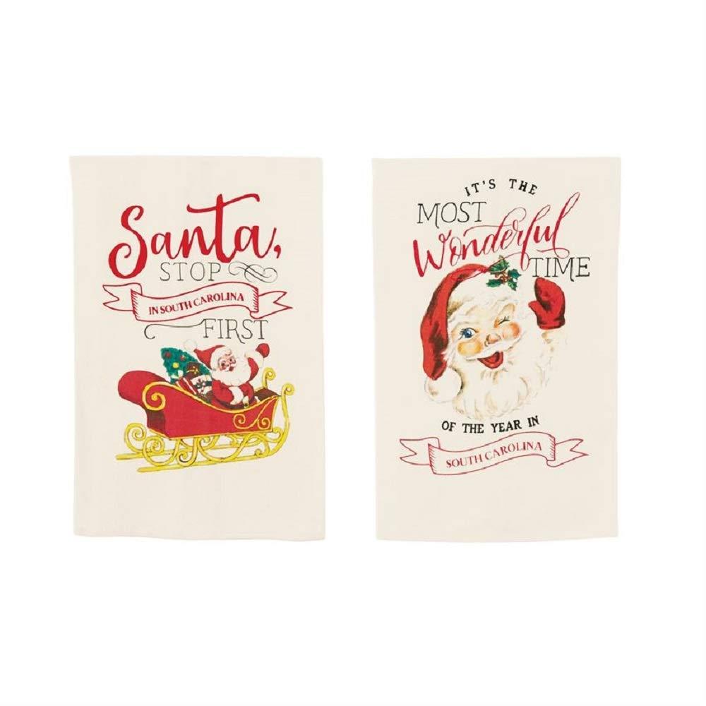 California Santa Stop Xmas Towel Direct stock discount Cheap mail order shopping