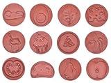 Eduplay Ernährungs-Stempel 12er Set