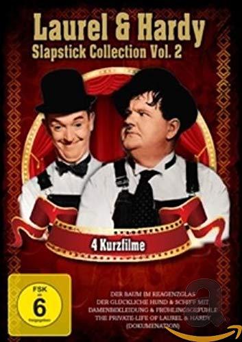 Laurel & Hardy - Slapstick Collection Vol.2 (Der Baum Im Reagenzglas, Der Glückliche Hund, Schiff mit Damenbegleitung, Frühlingsgefühle, The Privat Life Of Laurel & Hardy)