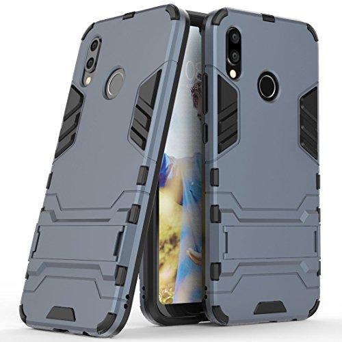 MaiJin Funda para Huawei P20 Lite/Nova 3e (5,84 Pulgadas) 2 en 1 Híbrida Rugged Armor Case Choque…