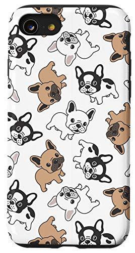 iPhone SE (2020) / 7 / 8 Cute French Bulldog Pattern Case
