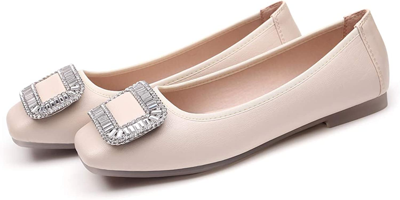Bon Soir Women Flats Sandals Ballet Flats Mocassins Slip On Loafers Ladies Casual shoes
