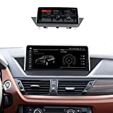 TypeBuilt Autoradio Android Stereo Touchscreen GPS 10.25 Pollici HD Touch Multimedia per BMW X1 E84 2009-2015 Supporto 12V Dab Chiamate in Vivavoce MP5 SWC,Cic sysyem,MSM8917
