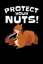 Protect Your Nuts!: Journal, College Ruled Lined Paper, 120 pages, 6 x 9