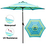 Best Patio Umbrellas - Abba Patio 9 ft Patio Umbrella Outdoor Market Review
