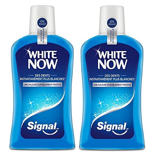 Signal Bain de Bouche Antibactérien White Now,...
