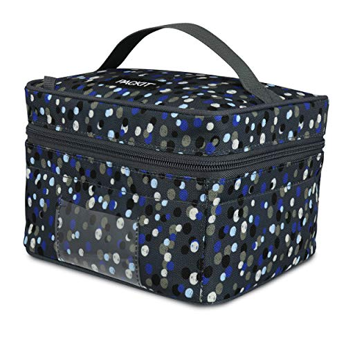 Product Image of the PackIt Freezable Breastmilk & Formula Cooler, Scribble Dots