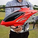 Avión Sistema de estabilización LED Interior / exterior Helicóptero RC 3.5 Canales RC Drone Avión de juguete para niños Niños adolescentes Regalos Cable de carga USB Control remoto Helicóptero Juguete