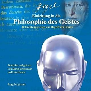 Einleitung in die Philosophie des Geistes Titelbild