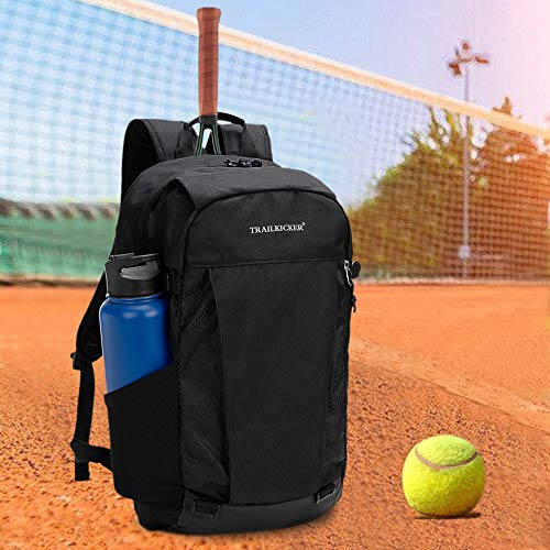TRAILKICKER 17 inch Lightweight College School Backpack, Daypack, Sports backpack with attachable shoe bag