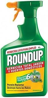Herbicida Roundup listo para empleo 1 Litro. Efectos a las 6