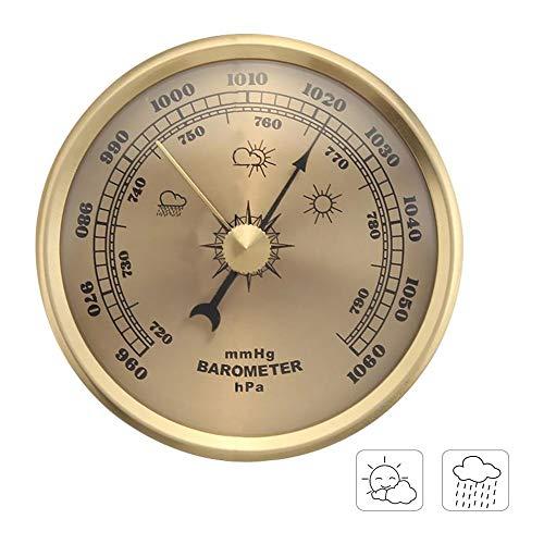 didatecar Hygrometer Thermometer Hygrometer Barometer Luftdruckmesser Für Schiffsfabriken Laboratorien Familien Für Raumklimakontrolle Raumluftüerwachtung Klima Monitor 70mm