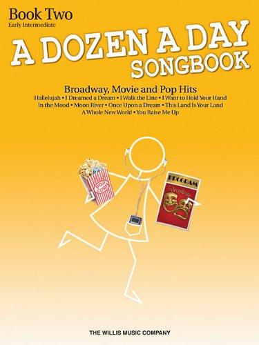 A Dozen A Day Songbook - Book 2 Early Intermediate Level