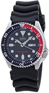 Seiko Men's SKX009K1 Blue Dial Divers Watch