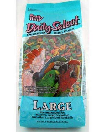 Pretty Bird International Bpb79118 20-Pound Daily Select Premium Bird Food, Large
