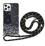 ZhuoFan Funda con Cuerda para iPhone XR Carcasa Negro Silicona Dibujos Case...