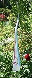 Gartenflamme Punto hellblau