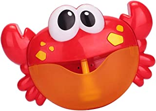 HOMYL Crab Bubble Maker Machine Musical Bubble Automated Bath Baby Toy Shower Fun Time