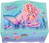 Depesche 11123 Fantasy Model Mermaid - Joyero con luz (18,5 x 13,5 x 13,8 cm)