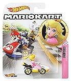 Hot Wheels GBG28 - Mario Kart Replica 1:64 Die-Cast Spielzeugauto Peach, Spielzeug ab 3 Jahren -