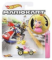 ホットウィール(Hot Wheels) マリオカート(MARIO KART) ピーチ姫 スタンダード GBG28