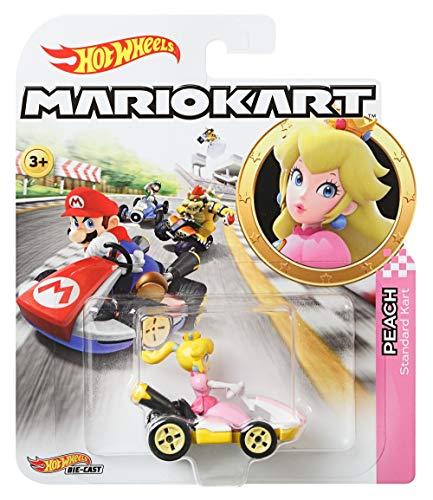 Hot Wheels GBG28 Mario Kart Replica 1:64 Die-Cast Peach