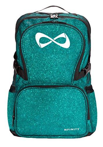 Nfinity Sparkle Rucksack, blaugrün