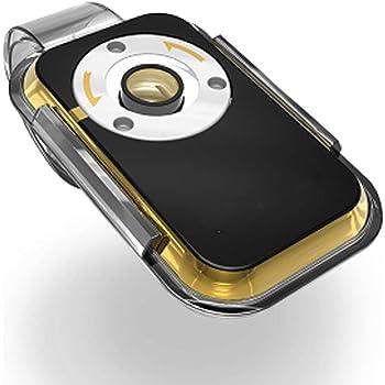 スマホ 顕微鏡 iミクロン 最大倍率400倍 クリップ取付けタイプ スマートフォン 撮影【国内正規代理店】(ゴールド)