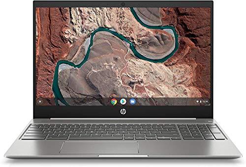 "(Renewed) HP 15.6"" FHD Touchscreen Chromebook Laptop Computer, for Students or Business, Intel Core i3-8130U(Beat i5-7200U), 4GB RAM, 128GB eMMC, 13HRs Battery Life, Chrome OS, SPMOR Mousepad"