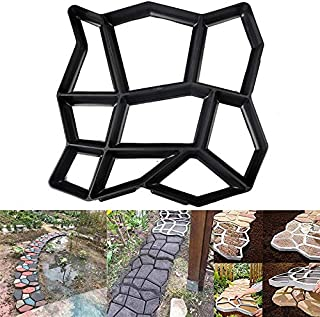 2019 New 35X35X3.6cm Plastic Paving Mould Concrete Stepping Driveway Stone Path Mold Patio Maker Tools for DIY Garden Pavement
