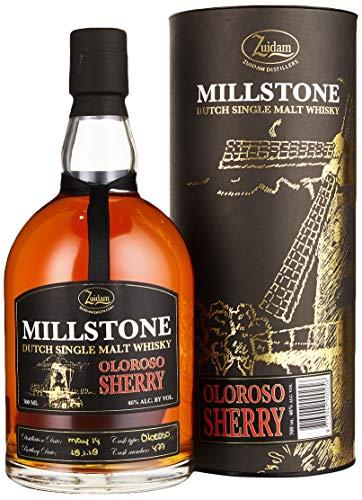 Zuidam Millstone Single Malt Whisky Oloroso Sherry Cask 2014/2018 (1 x 0.7 l)