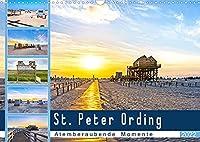 St. Peter Ording - Atemberaubende Momente (Wandkalender 2022 DIN A3 quer): Fastzinierende Weiten an den Straenden von SPO (Monatskalender, 14 Seiten )