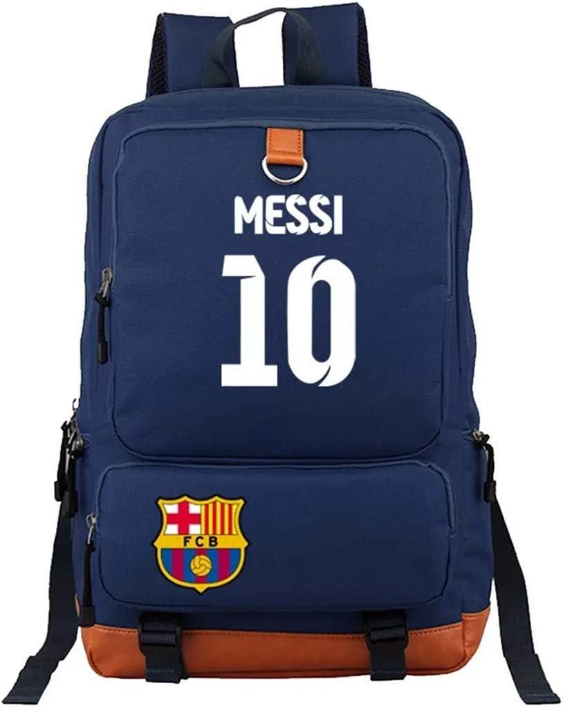 Kids Some reservation Students Lionel Messi Fans School San Diego Mall Backpacks Book Bag-Barcel