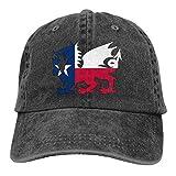 Gorra De Béisbol Unisex Bandera De Texas Dragón Galés Hip Hop Sombreros Ajustable Shade Hat Adulto Gorras De Golf Idea Hockey Béisbol Gorras