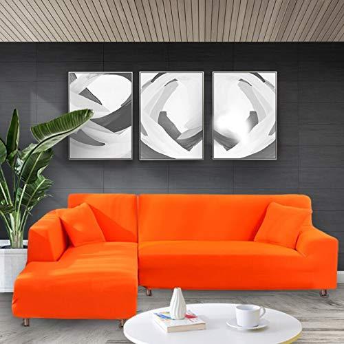 Funda de sofá elástica Estiramiento Ajustado Envoltura Todo Incluido Fundas de sofá para Sala de Estar Funda de sofá Silla Funda de sofá A20 4 plazas