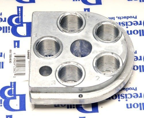 Dillon Precision 13863 XL 650 Toolhead XL650 Tool Head Five Stage Die Holder by Dillon Precision
