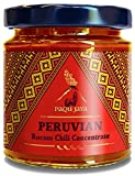 salsa de rocoto - Peruvian Rocoto Chili Concentrate - Paqu Jaya 6.7oz Jar - Non-GMO, Gluten-Free, Vegan | Fiery Heat Pairs Well with Ceviche, Salsa & Fish Dishes | Used Globally by Top Chefs!