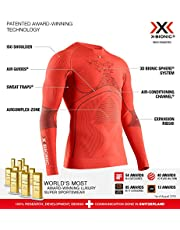 X-Bionic Energy Accumulator 4.0 Shirt Round Neck Long Sleeves Men Capa De Base Camiseta Funcional Hombre