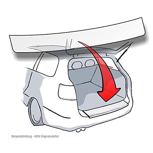 Lackschutzshop Ladekantenschutz passend für BMW X1 (Typ F48 ab BJ 2015) - TRANSPARENT