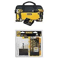 DEWALT DCK280C2 20-Volt Max Li-Ion 1.5 Ah Compact Drill and Impact Driver Combo Kit from DEWALT