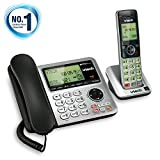 Best House Phone For Seniors - VTech CS6649 Expandable Corded/Cordless Phone System with Answering Review