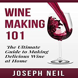 Wine Making 101 audiobook cover art