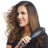 Clomana Ultra Class Hair Straightener Electric Comb Brush 3 in 1 Ceramic Fast Hair Straightening...