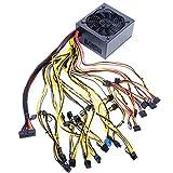 Rabuet Alimentatore di rete 1800 W 2000 W modulare Mining Bitcoin Mining Machine per 8 Gpus ETH Rig...