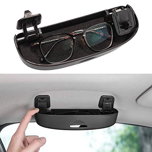 Thenice for 10th Gen Civic Glasses Sunglasses Case Holder Grab Hnadle Storage Box for Honda Civic CR-V XR-V Accord Insight 2020 2019 2018 -Black