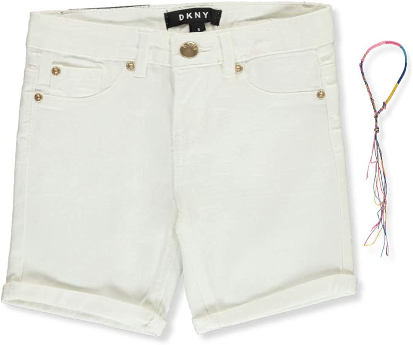 BNWT DKNY Filles Logo Jersey Short Black Kids Activewear gym taille 8 ans £ 50