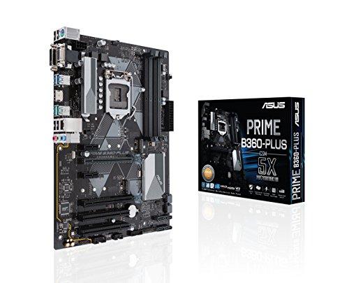 ASUS PRIME B360-PLUS/CSM - carte mère PRO (Intel B360 LGA 1151 ATX DDR4, ASUS Corporate Stable Model, CSM, ASUS control center)